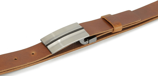 Wildskin Skórzany pasek 9501 brązowy