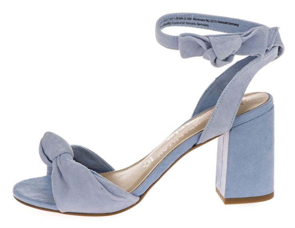 Tamaris dámské sandály 39 fialová
