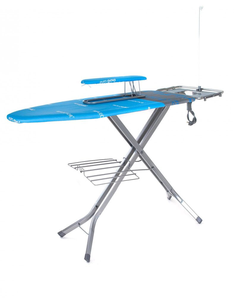 BRILANZ Žehlicí prkno Professional 130 x 48 modré