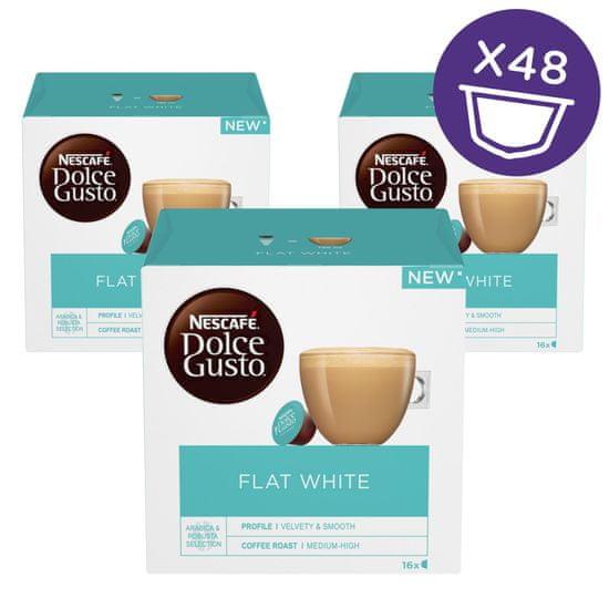 NESCAFÉ kapsułki Dolce Gusto Flat White, 3 zestawy