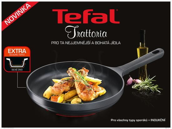 Tefal Patelnia Trattoria 24 cm G6050414