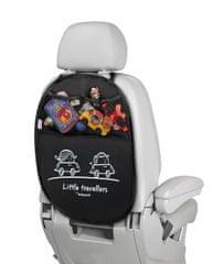 More Babypack Organizér a ochrana autosedadla, čierna