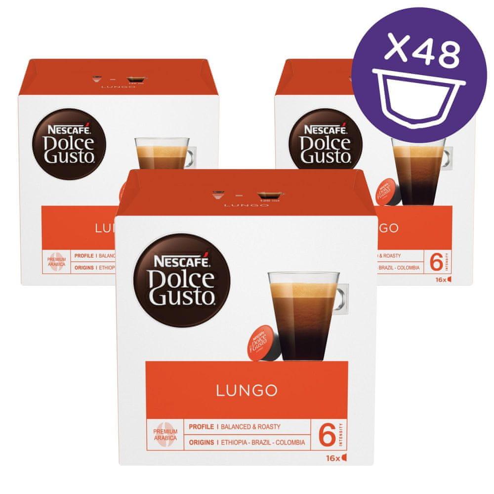 Nescafé Dolce Gusto Lungo kávové kapsle 48 ks