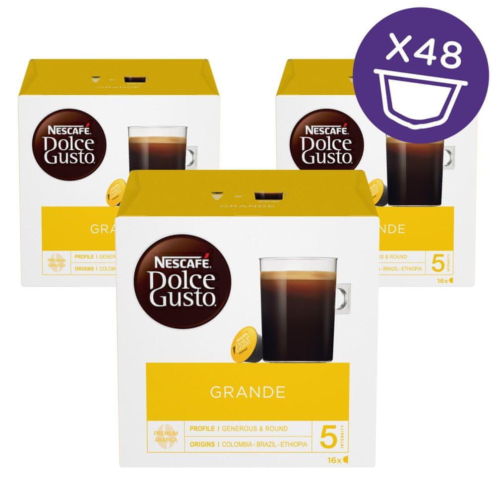 NESCAFÉ Dolce Gusto® kávové kapsle Grande 3balení