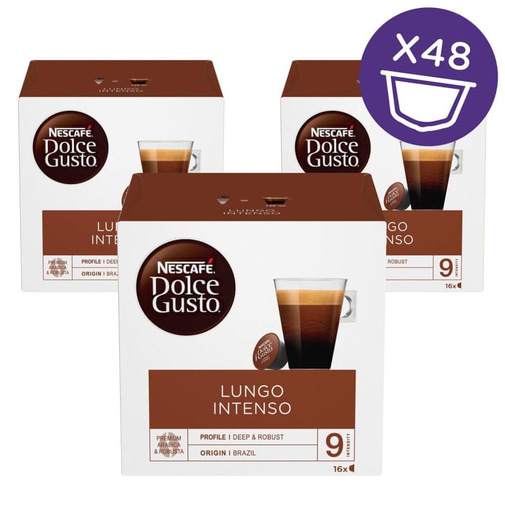 Nescafé Dolce Gusto Lungo Intenso kávové kapsle 48 ks
