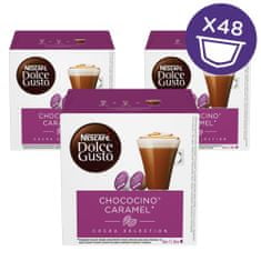 NESCAFÉ Dolce Gusto Chococino Karamela čokoladni napitek 204,8g (16 kapsul), trojno pakiranje
