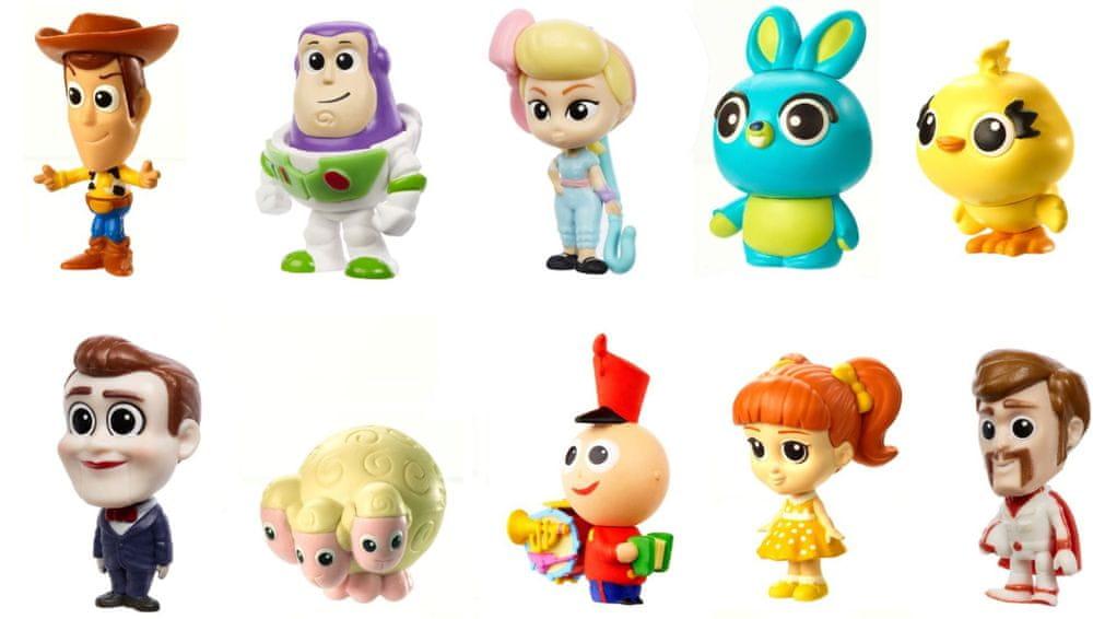 Mattel Toy Story 4: Příběh hraček Minifigurka 10 ks