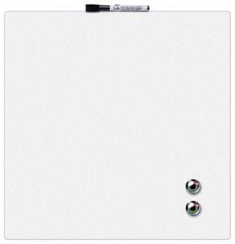 Nobo tabla magnetna quarter, 36x36 cm, bela