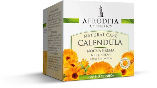 Kozmetika Afrodita nočna krema Calendula, 50ml
