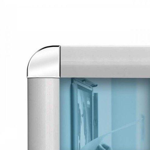 Nobo okvir za sliko A1 594 x 84, aluminij, klip pripenjanje