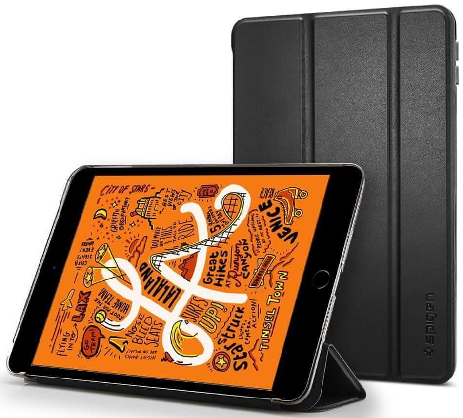 Spigen Ochranné pouzdro Smart Fold Case pro Apple iPad Mini 5 2019, černé 051CS26112