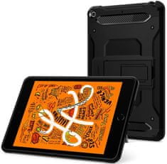 Spigen Ochranné puzdro Tough Armor TECH pre Apple iPad Mini 5 2019, čierny 051CS26114