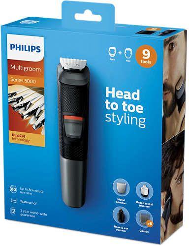 Philips MG5720/15 prirezovalnik, 9 v 1
