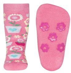 EWERS dekliške nogavice, protizdrsne, 31 - 34, roza