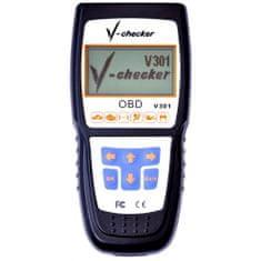 SIXTOL V301 V-checker profi diagnostika OBD2/EOBD CZ