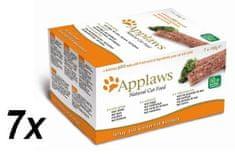 Applaws mačja hrana Multipack Fresh, 7 x 100 g