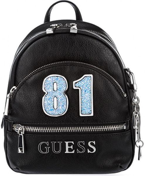 e3b378c48d Guess černý dámský batoh HWVY69 94310