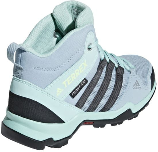 Adidas Terrex Ax2r Mid Cp K/Blubea/Cblack/Shoyel K dekliški gležnarji, 34, svetlo modri - Odprta embalaža