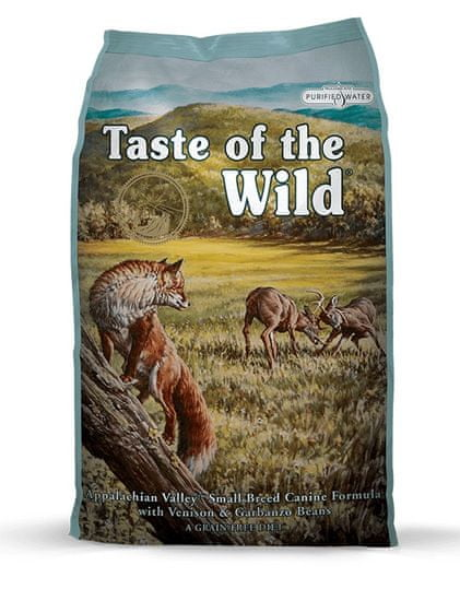 Taste of the Wild hrana za pse Appalachian Valley, 5,6 kg