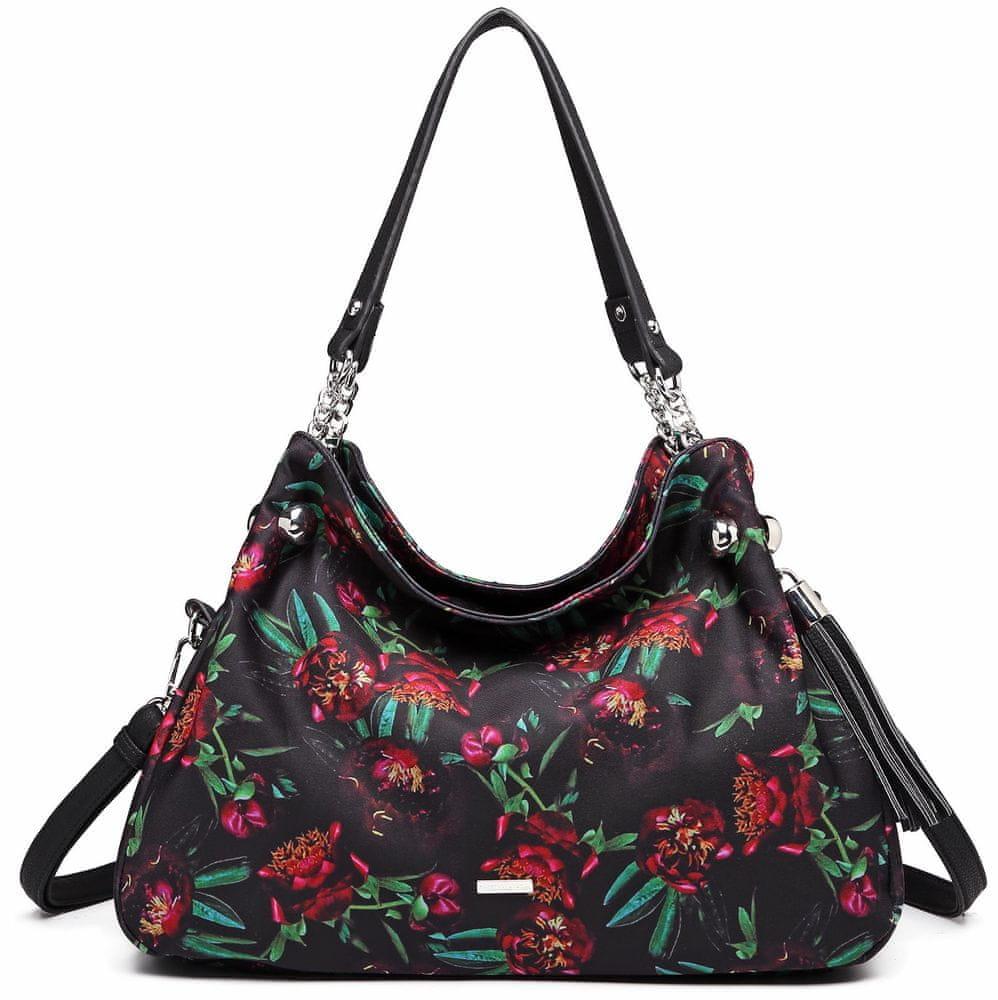 Tamaris černá kabelka Gweny Shoulder Bag 3157192