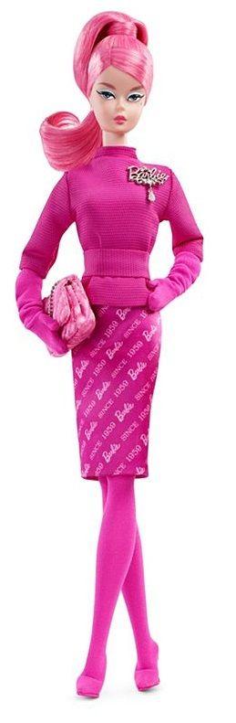 Mattel Barbie Panenka k 60. výročí pink