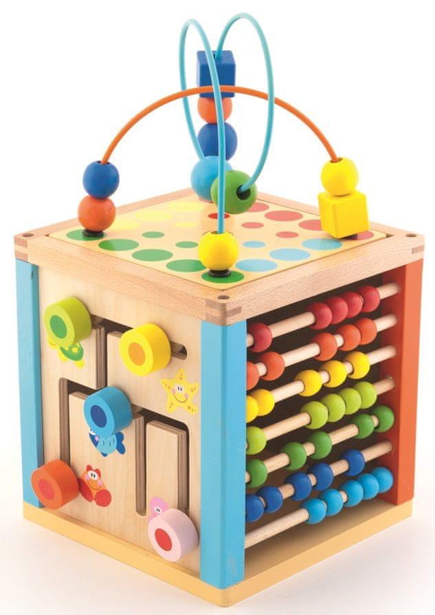 Trefl Kostka edukační dřevěná Wooden Toys