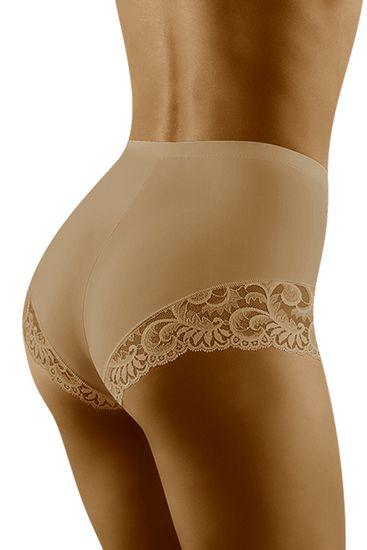 Wolbar Női alakformáló fehérnemű Exepta beige + Nőin zokni Gatta Calzino Strech