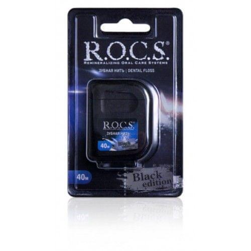 R.O.C.S. zobna nitka Black Edition