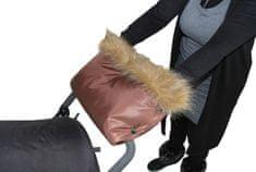 Emitex LUXURY rokavica za otroški voziček, rjava