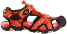 ALPINE PRO chlapecké sandály Barbielo oranžová 33