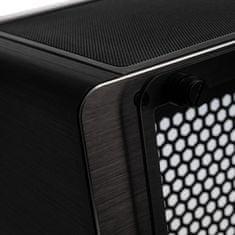 Raijintek Ophion EVO Mini-ITX ohišje, kaljeno steklo, črno