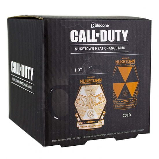 Paladone Call of Duty Nuke Town Heat Change šalica