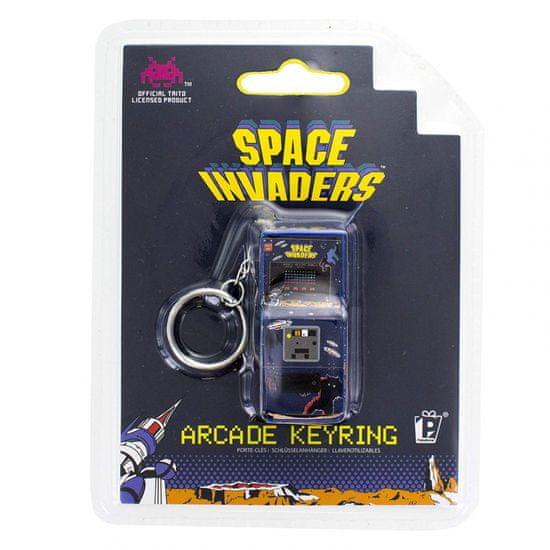 Paladone Space Invaders Arcade, obesek za ključe