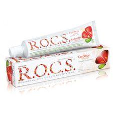 R.O.C.S. Caribbean Summer zobna pasta, grenivka in meta, za odrasle (varna za otroke od 4. leta)