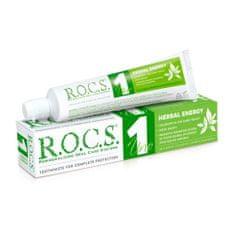 R.O.C.S. Uno Herbal zobna pasta