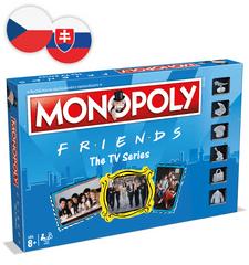 Winning Moves Monopoly: Přátelé CZ/SK