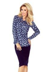 Numoco Ženska bluza 140-7, denim, XS