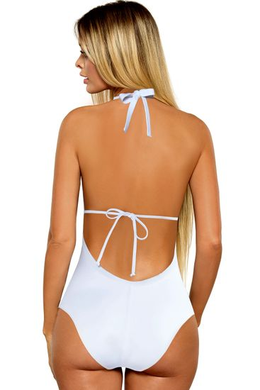 LORIN Damski jednoczęściowy kostium kąpielowy L4123/8 + Skarpetki Gatta Calzino Strech