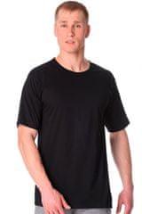 Cornette Férfi póló 202 new plus black, fekete, 4XL