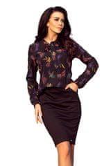 Numoco Ženska bluza 140-10, temno modra, XL