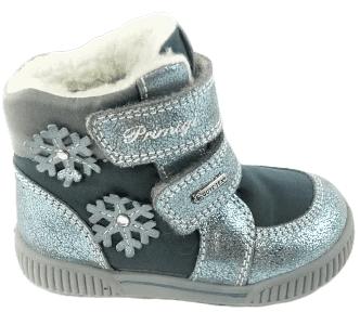 Primigi dívčí zimní obuv 23 šedá