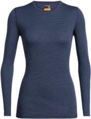 Icebreaker Wmns 200 Oasis Ls Crewe ženska majica z dolgimi rokavi, XS, temno modra