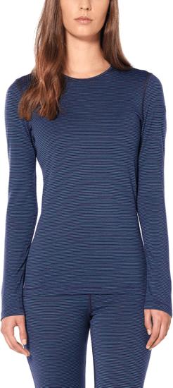Icebreaker Wmns 200 Oasis Ls Crewe ženska majica z dolgimi rokavi