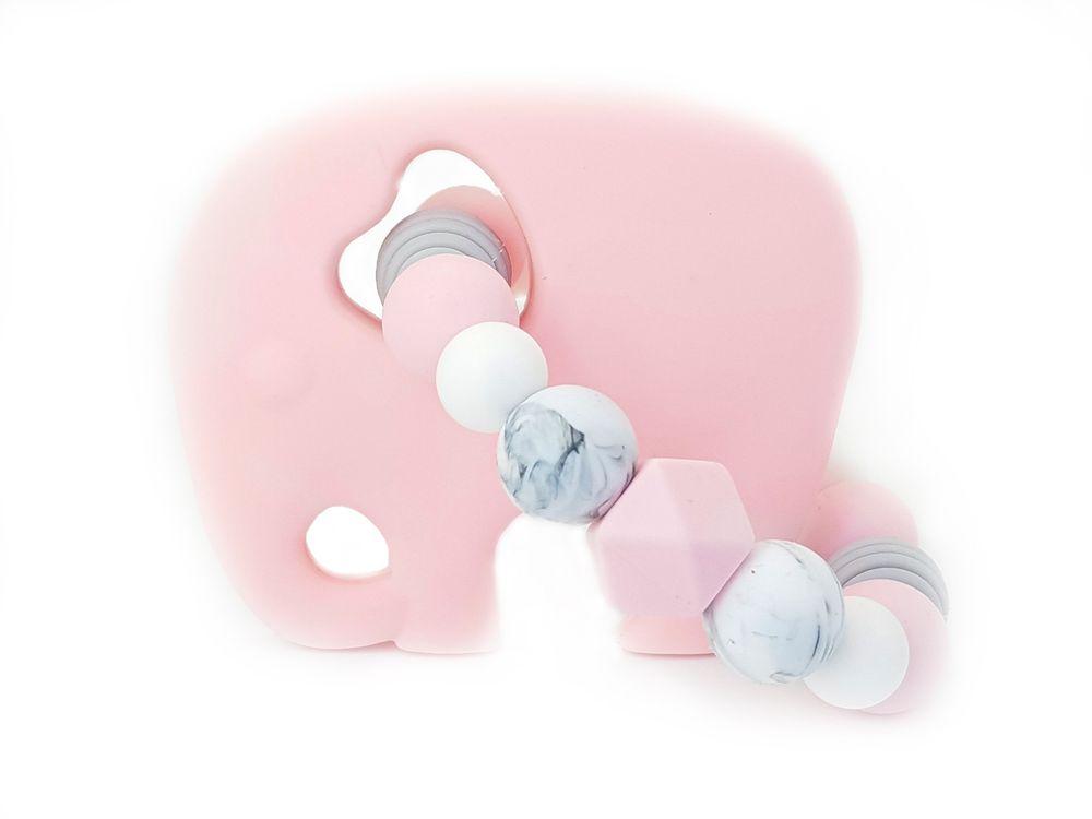 KidPro Silikonové kousátko: Sloník Růženka