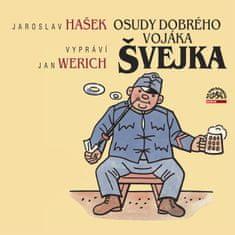 Hašek Jaroslav: Osudy dobrého vojáka Švejka (2x CD) - MP3-CD