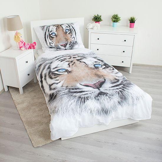 Jerry Fabrics posteljnina Beli tiger