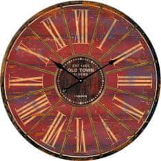 Postershop Üveg fali óra: Old Town Clocks