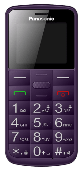 Panasonic telefon KX-TU110EXV Violet