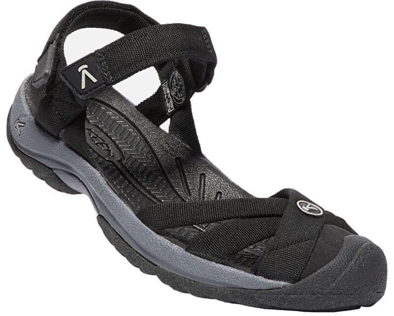 KEEN Dámské sandále Waterfront Women Bali Strap Black/Steel Grey (Velikost 39)