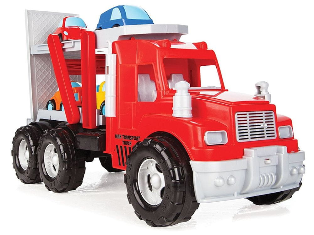 Pilsan Mak Truck Transportní - 4 autíčka 56 cm